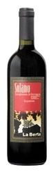 La Berta Solano Sangiovese Di Romagna Superiore 2005, Doc, Estate Btld. Bottle