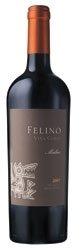 Viña Cobos Felino Malbec 2007, Mendoza, Unfined & Unfiltered, Estate Btld. Bottle