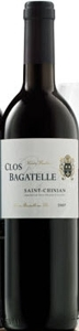Clos Bagatelle Cuvée Tradition 2007, Ac Saint Chinian, Estate Btld. Bottle