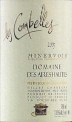 Domaine Des Aires Hautes Les Combelles 2005, Ac Minervois, Estate Btld. Bottle