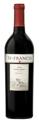 St. Francis Merlot 2005, Sonoma County, Estate Btld. Bottle