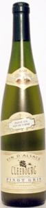 Cave De Cleebourg Pinot Gris 2006, Alsace, France Bottle