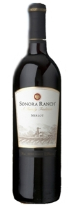 Sonora Ranch Merlot Bottle
