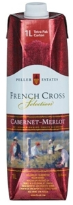 Peller Estates French Cross Cabernet Merlot, 1000 Ml   Carton Bottle