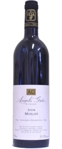 Angels Gate Merlot VQA 2007 Bottle