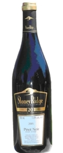 Stoney Ridge Pinot Noir VQA Bottle
