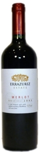 Errazuriz Estate Merlot 2007, Curico Valley Bottle