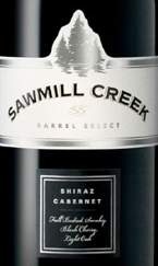 Sawmill Creek Barrel Select Shiraz Cabernet Bottle