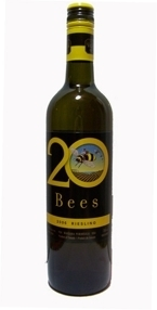 20 Bees Riesling 2009, Ontario VQA Bottle