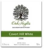 Oak Heights Covert Hill White VQA Bottle