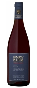 Henry Of Pelham Pinot Noir 2007, VQA Niagara Peninsula Bottle