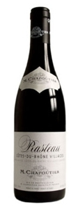Chapoutier Cotes Du Rhone Villages 2007 Bottle