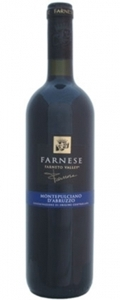 Farnese Montepulciano D'abruzzo 2006, Central Bottle