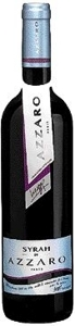 Azzaro Syrah Bottle
