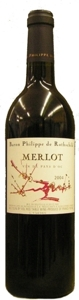 Philippe De Rothschild Merlot Vdp 2007 Bottle
