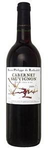 Philippe De Rothschild Cabernet Sauvignon Vdp 2008 Bottle