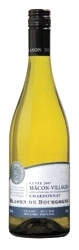 Blason De Bourgogne Chardonnay Mâcon Villages 2007, Ac Bottle