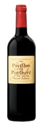 Pavillon De Poyferré 2004, Ac Saint Julien, Second Wine Of Château Léoville Poyferré Bottle
