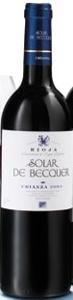 Escudero Solar De Becquer Crianza 2004, Doca Rioja Bottle