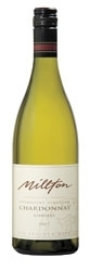 Millton Riverpoint Vineyard Chardonnay 2007, Gisborne, North Island, Bio Dynamically Grown Grapes, Estate Btld. Bottle