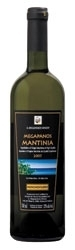 A. Megapanos Mantinia Moschofilero 2007, Aohq Bottle