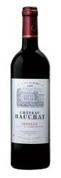 Château Hauchat 2005, Ac Fronsac Bottle