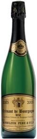 Dufouleur Père & Fils Crémant De Bourgogne Brut 2005, Ac Bottle