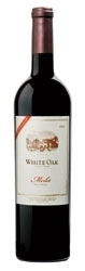 White Oak Merlot 2004, Napa Valley, 25th Anniversary Bottle