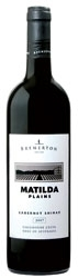 Bremerton Matilda Plains Cabernet/Shiraz 2007, Langhorne Creek, South Australia Bottle
