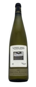 Vineland Estates Riesling Semi Dry VQA 2007 Bottle