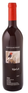 Pelee Island Merlot 2009 Bottle