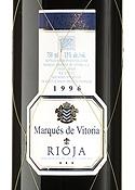 Marqués De Vitoria Rioja Gran Reserva 1996 Bottle
