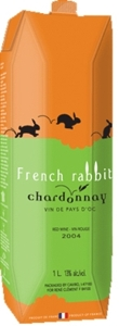 French Rabbit Chardonnay Carton 2008, 1000 Ml Bottle