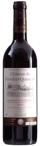 Chateau De Terrefort 2005 Bottle