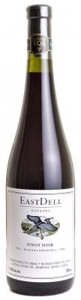 Eastdell Estates Pinot Noir 2010, Ontario Bottle