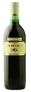 Kourtakis Vin De Crete Red 2008 Bottle