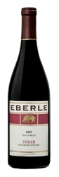 Eberle Winery Steinbeck Vineyard Syrah 2005, Paso Robles Bottle