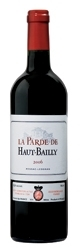 La Parde De Haut Bailly 2006, Ac Pessac Léognan, 2nd Wine Of Château Haut Bailly Bottle