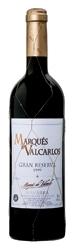 Marqués De Valcarlos Gran Reserva 1999, Do Navarra Bottle