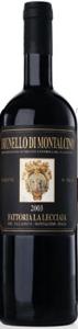 Fattoria La Lecciaia Brunello Di Montalcino 2003 Bottle