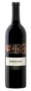 Sebastiani Merlot 2005, Sonoma County Bottle