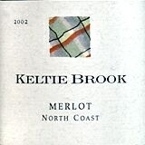 Keltie Brook Merlot 2004, North Coast Bottle