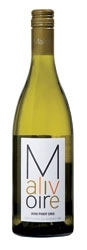 Malivoire Pinot Gris 2008, VQA Niagara Escarpment Bottle