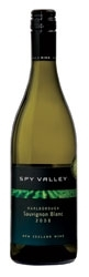 Spy Valley Sauvignon Blanc 2008, Marlborough, South Island Bottle