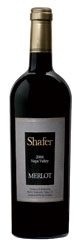 Shafer Vineyards Merlot 2006, Napa Valley Bottle