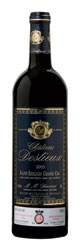 Château Destieux Saint émilion Grand Cru 2005 Bottle