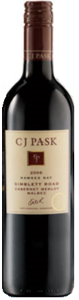 Cj Pask Gimblett Road Cabernet/Merlot/Malbec 2006, Hawkes Bay, North Island Bottle