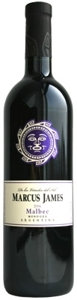 Marcus James Malbec 2007, Mendoza Bottle
