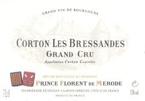 Prince Florent De Mérode Corton Les Bressandes Grand Cru 2006, Ac Bottle