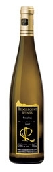 Ridgepoint Riesling 2007, VQA Twenty Mile Bench, Niagara Peninsula Bottle